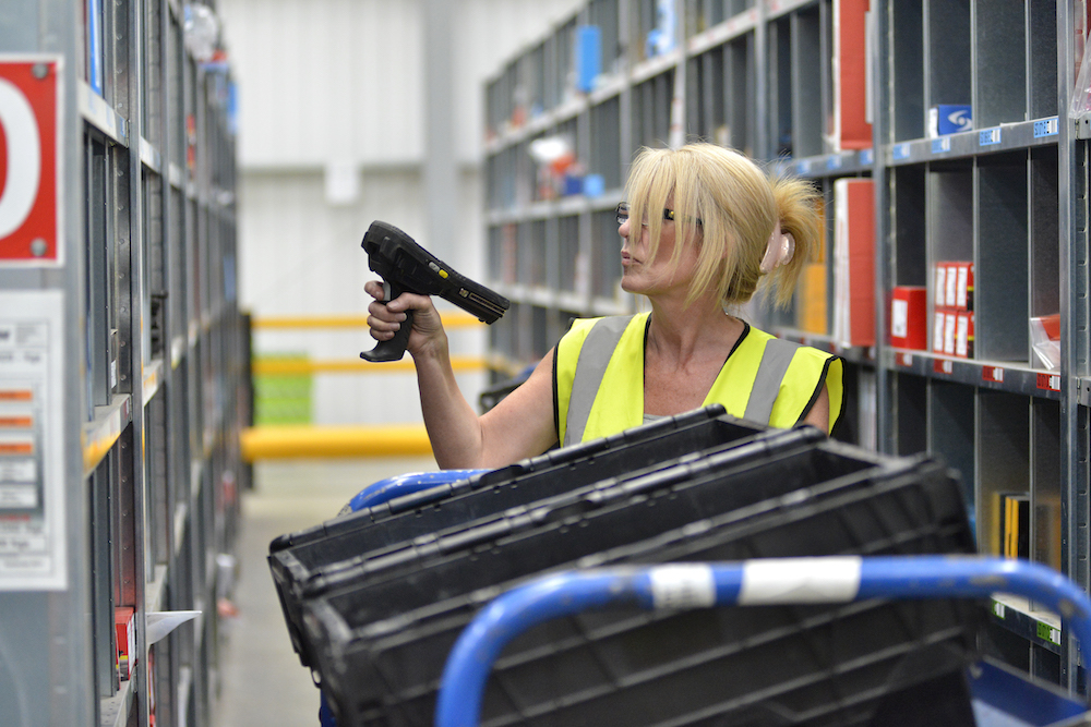 warehouse picking app